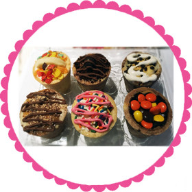 Cookie Cup 6 Pack-Party Flavors
