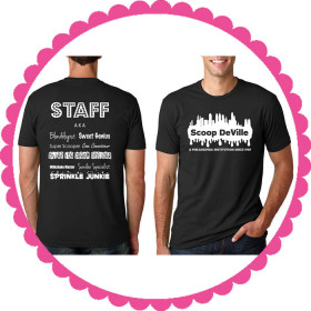 Men's Scoop Staff Tees