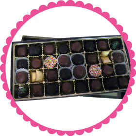 Assorted Gourmet Chocolate Gift Box