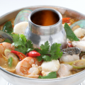 Spicy and Sour Seafood Soup