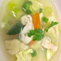 Vegetables Chicken Soup