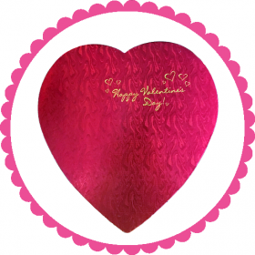 2 Pound Heart Shaped Assorted Chocolate Box