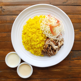 Chicken Shawarma Rice