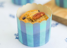 Pecan Chocolate Chip Muffin