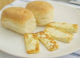 Hot Pandesal and Kesong Puti