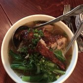 Duck with Noodle Soup