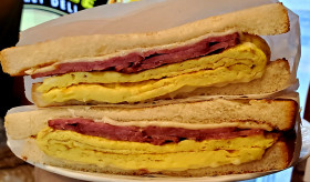 Turkey Bacon, Egg and Cheese