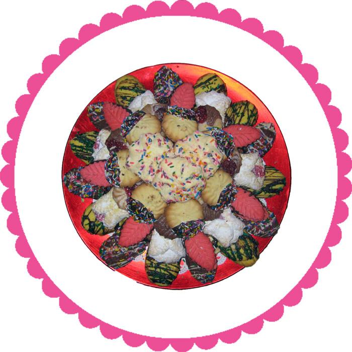 Fancy Cookie Plate