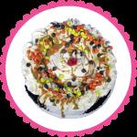 Reese's Pieces Ice Cream Cake