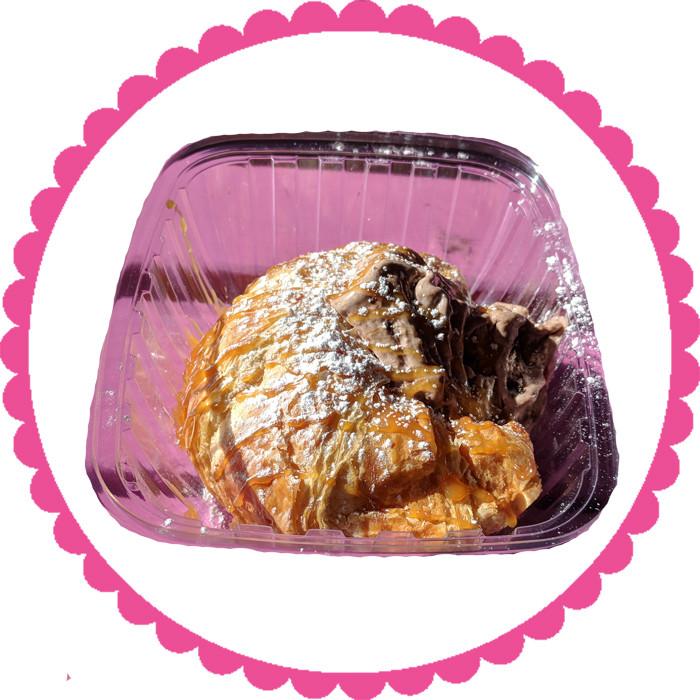 Warm and Flaky Croissant Sundae