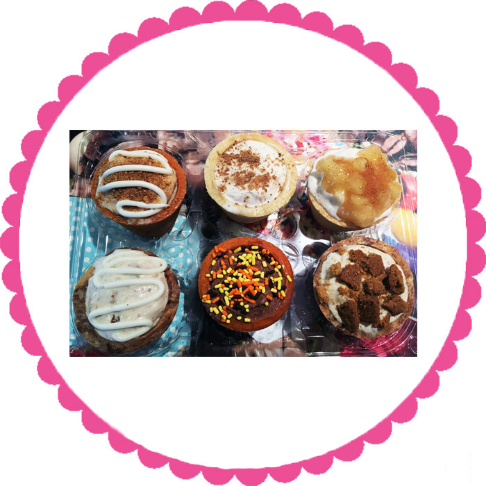 Cookie Cup 6 Pack-Fall Flavors