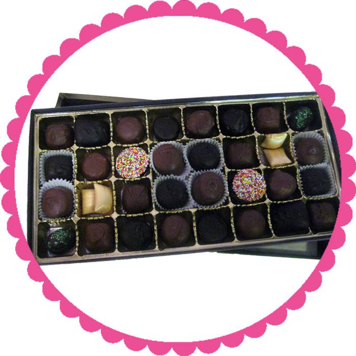 Assorted Gourmet Chocolate Gift Box