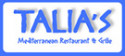 Talia's Bagels Mediterranean Restaurant