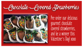 Candy Coated Chocolate Covered Strawberries