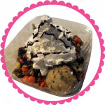 Candy Crush Edible Cookie Dough Mega-Sundae