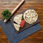 Manaeesh (Arabic Cheese Bread)