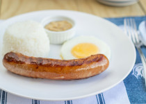 Grilled Sausage and Egg