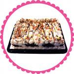 Reese's Pieces Quarter Sheet Ice Cream Cake