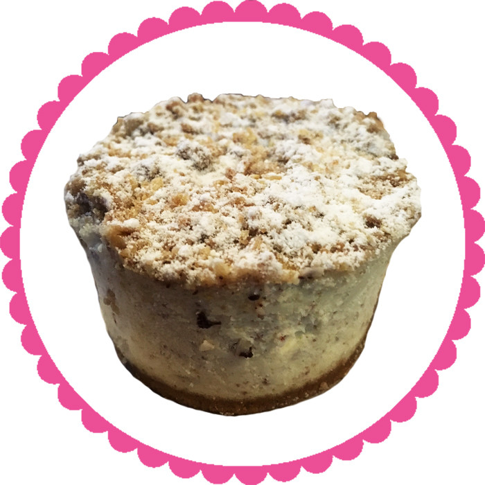 Apple Streusel Individual Cake
