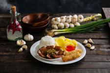 Garlic Liempo Adobo