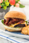 Grilled Bacon and Cheese Burger