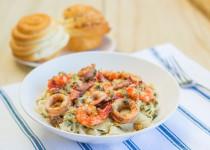 Seafood Basil Pesto