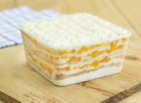 Mango Walnut Torte