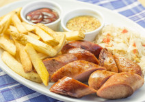 Mixed Sausage Platter