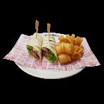 Chilli BBQ Beef Wrap (4627kJ)
