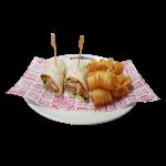 Mexicana Chicken Wrap  (5261kJ)