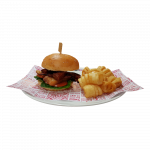 Three Little Hoggie's Burger (5477kJ)