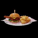 Crispy Chicken Burger (4823kJ)