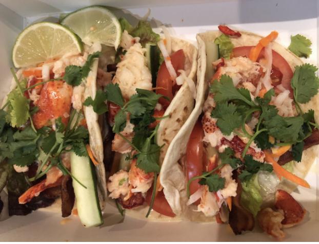 Lobter BLT Tacos