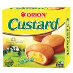 Orion Custard Soft Cake/Pie 1 Box (12 Pieces)
