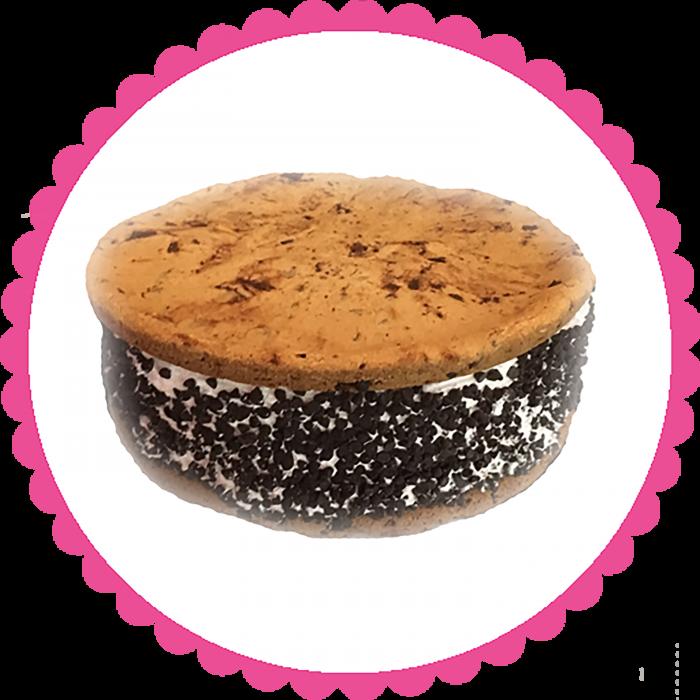 Mega Chipwich Ice Cream Cake
