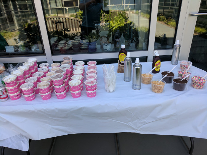 100 Person Make Your Own Sundae Bar